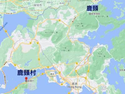 欣澳行山郊遊路線地圖