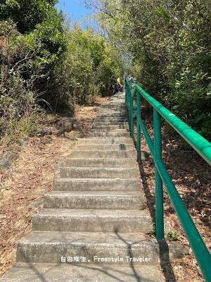 手指山是坪洲最高點,高95米,爬355級樓梯便到達!