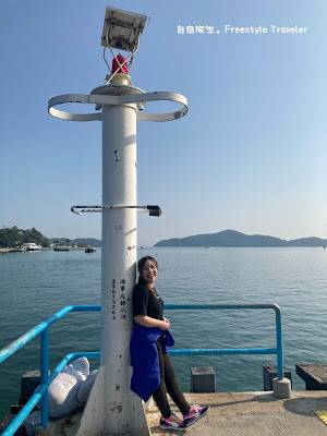 最後我們在大利島的燈塔位置拍完照就結束旅程了!