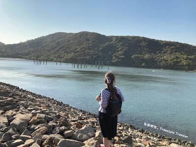 【欣澳行山】步行大約20分鐘就會到達海濱長廊的盡頭