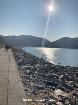 【欣澳行山】沿著欣澳海濱長廊一直走(面對海時的左面走)