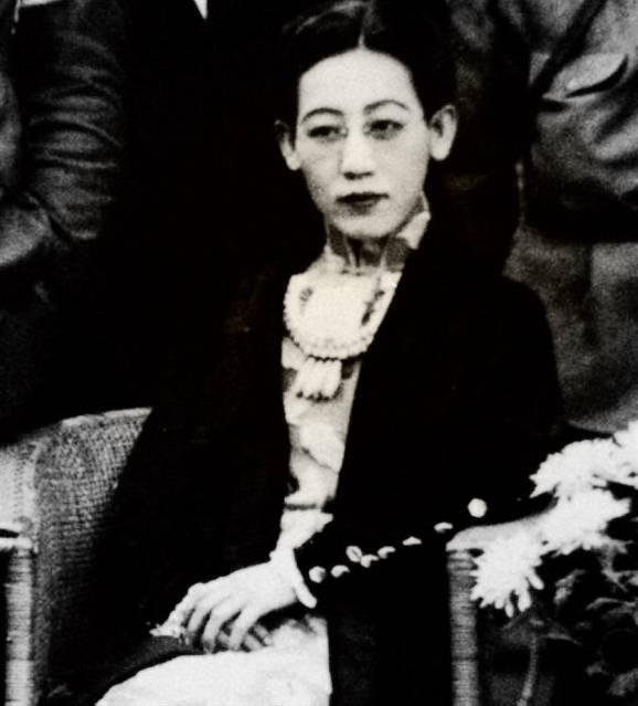 川島芳子照片(圖片來源:維基百科)