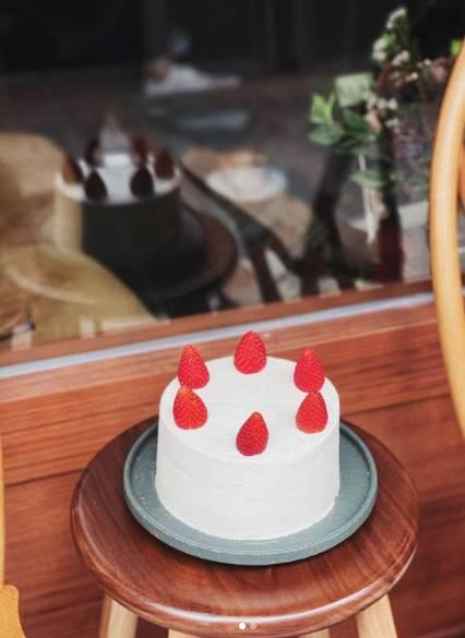 煉乳草莓蛋糕(圖片來源:楓子珈琲)