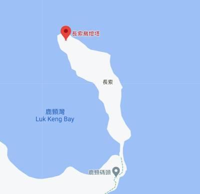 長索島燈塔地圖