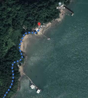 這間就是在Google Map上看到的水上木屋