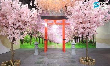 銅鑼灣時代廣場陶瓷京燒清水燒展!櫻花打卡位2.7米鳥居 免費送3款超美日本扇