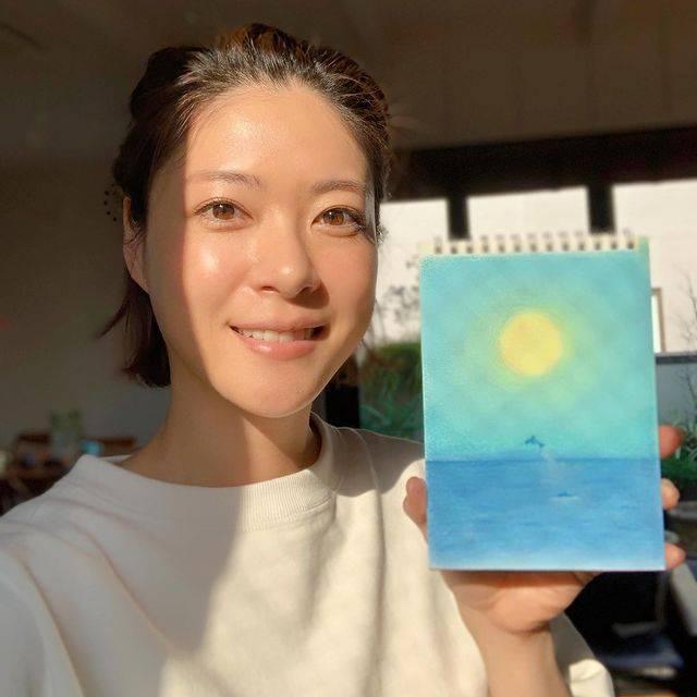 5月生日藝人代表 - 上野樹里(圖片來源:IG @_juri_art_)
