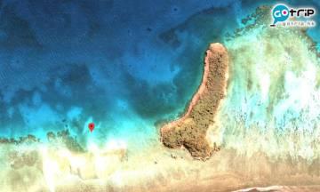【多圖】美婦看地圖發現神秘小島 迷之形狀笑爆網民
