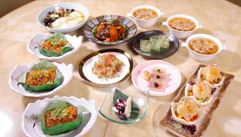 晚市套餐6款菜式加甜品,每款都是用心之作。