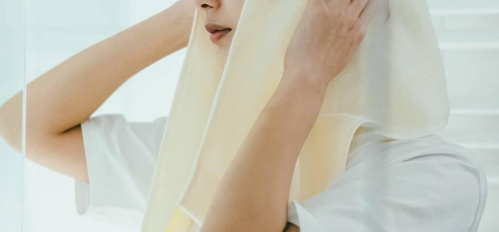【DAISO新品牌】毛巾(圖片來源:Standard Products by DAISO)