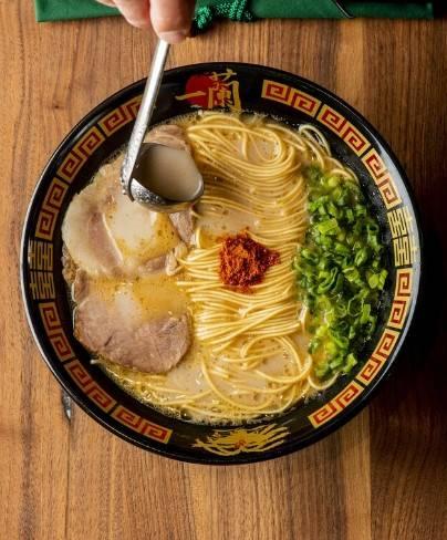 拉麵(圖片來源:官方網站@一蘭拉麵/ichiran_jp)