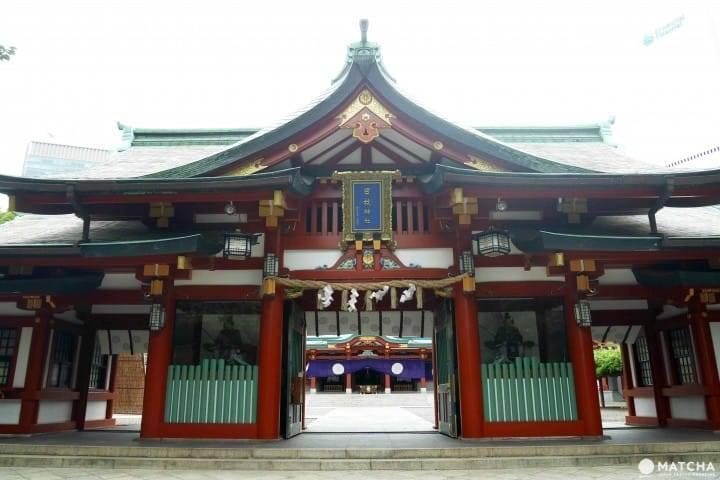 日枝神社,是東京十社之一