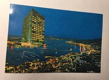 70年代「國賓酒店」宣傳明信片(圖片來源: Isidore Tam 君@香港昔日情懷Facebook)