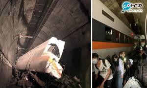 台鐵太魯閣出軌大停電 「像豆腐一樣被切開」至少36死72傷