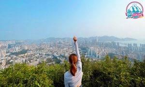畢架山行山|橫跨鷹巢山+畢架山簡單行山路線!俯瞰九龍半島景色