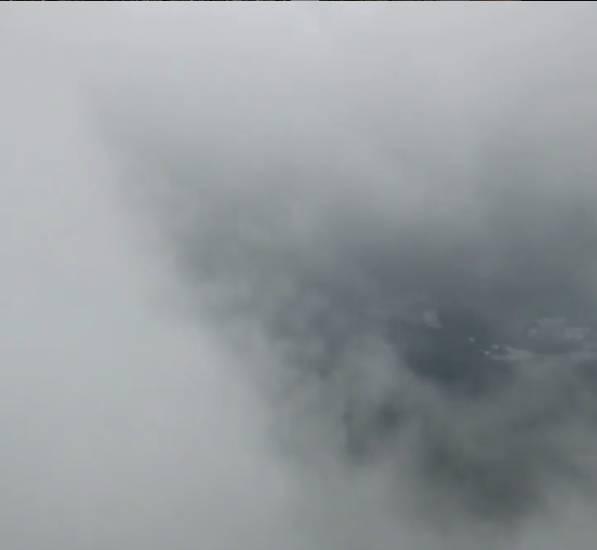 飛鵝山不時起霧,令山路更加難行(圖片授權:Vincent Wong)