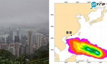 香港天氣|下周達30度 預料連續5天下雨