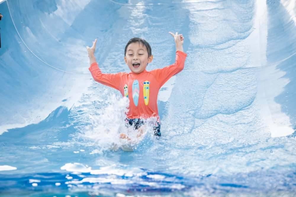 小童嬉水池:歡樂度100分(圖片來源:新濠影滙水上樂園官方相片)