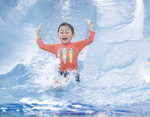 小童嬉水池:歡樂度100分(圖片來源:新濠影滙水上樂園官網)