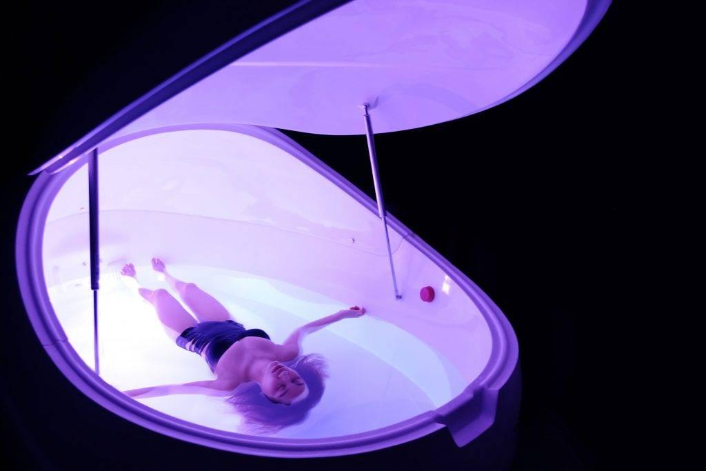 雙人Floax漂浮體驗,很特別呢!(圖片來源:朗廷酒店)