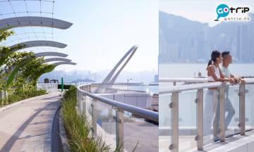 啟德空中花園正式啟用!設草地/噴泉/花園廣場 可以野餐+影相+散步 全長約1.4km!附交通方法