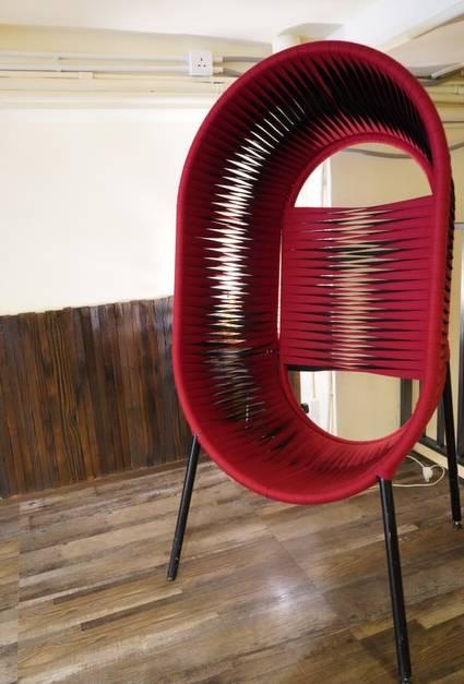 【深水埗cafe】度假風Cafe 兩層高+泰國手織桌椅