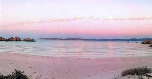布德利島是一個美麗的小環礁島,以特有的粉色海灘而著名。(圖片來源:Instagram@ maurodabudelli)
