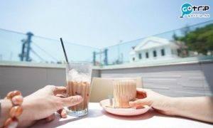 大澳好去處|水鄉粉色Cafe 邊歎咖啡邊賞180度大澳海景