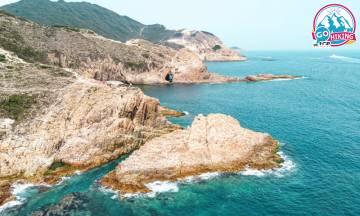 破邊洲行山|超壯觀海邊六角柱岩!睇盡地質奇觀 萬柱海岸/木棉洞/破邊洲/撿豬灣