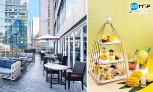 觀塘美食|露天餐廳三層架下午茶$139/位!黑松露鬆餅配法國凍鵝肝