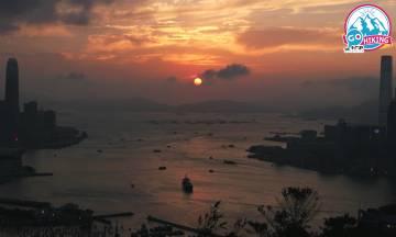 紅香爐行山 270度飽覽維港最美日落!10分鐘輕鬆攻頂
