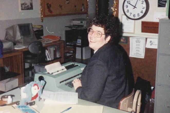 Axton母親工作照片(圖片來源:New York Post)