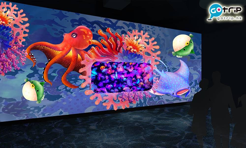 荃灣探遊館|全港首個海洋探索體驗館開幕!佔地逾萬呎 設水母萬花筒/光影海洋觀景窗/VR