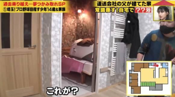 神祕房間其實是岩盤浴房(圖片來源:《可以跟著你回家嗎?》節目截圖)