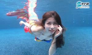香港美人魚體驗|唔識游水都可參加!化身美人魚水中打卡影靚相