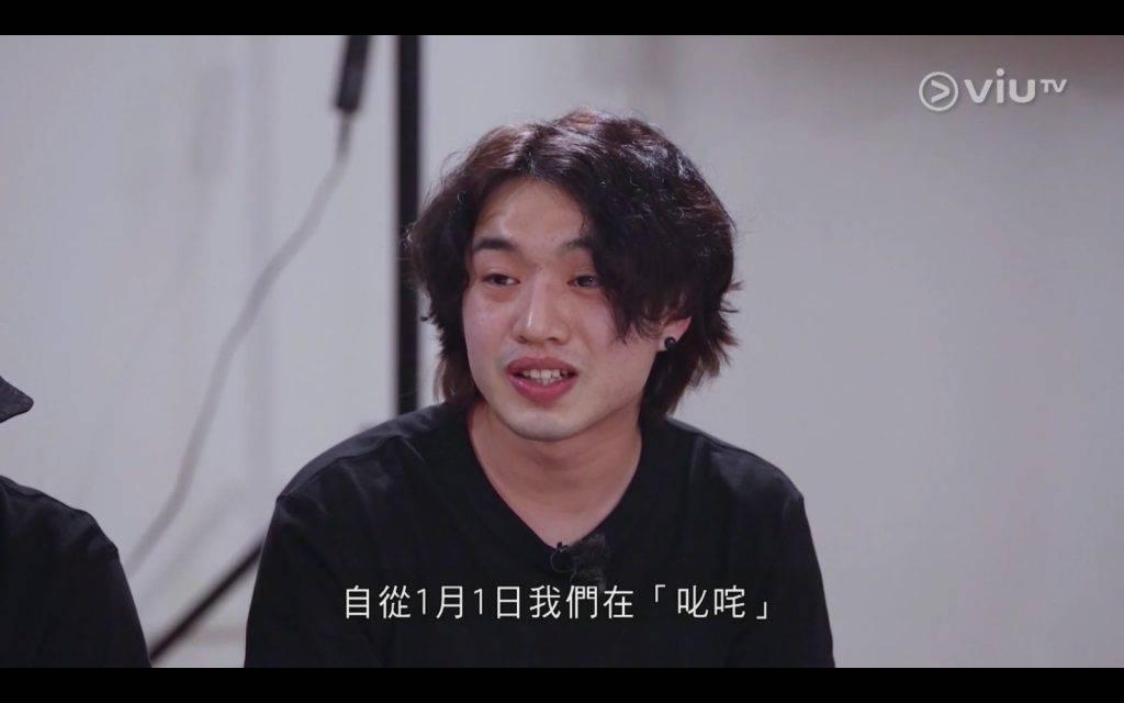 Jer指自己跟Anson Kong(AK)的矛盾由本年初舉行的叱咤樂壇流行榜頒獎典禮開始(圖片來源:ViuTV)