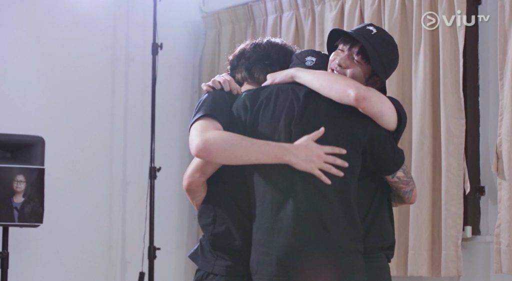 最後AK、Jer及Anson Lo解開心結(圖片來源:ViuTV)