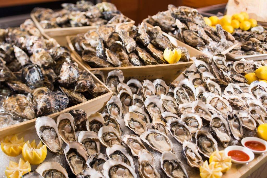 多款新鮮海鮮無限供應。