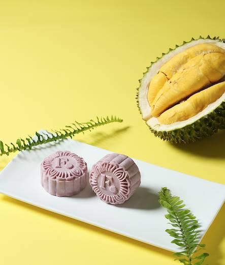 貓山王榴槤冰皮月 100%採用馬來西亞彭亨州出產的貓山王榴槤製作(圖片來源:相關機構提供)
