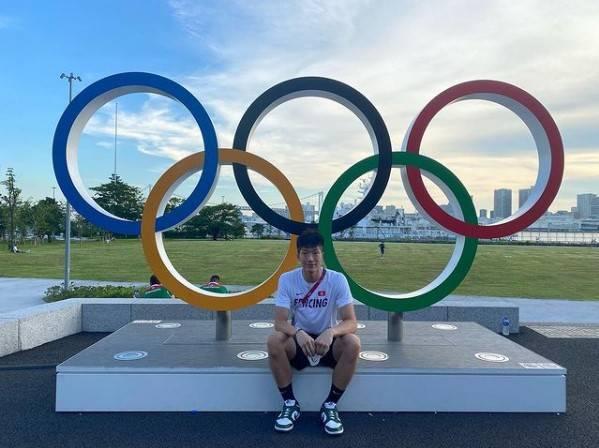 張家朗積極備戰奧運,希望和隊友一起爭取團體獎牌。(圖片來源:Instagram@ cheungkalonggggg)