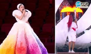 2021東京奧運開幕禮7大亮點 哈薩克仙女持旗手超搶眼 國民歌姬MISIA獻唱震攝全場