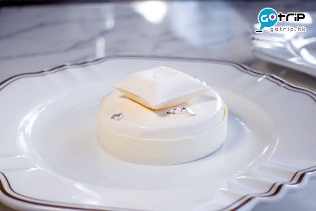白芝士柚子蛋糕(圖片來源:GOtrip編輯部 / 陳俊堯 攝)