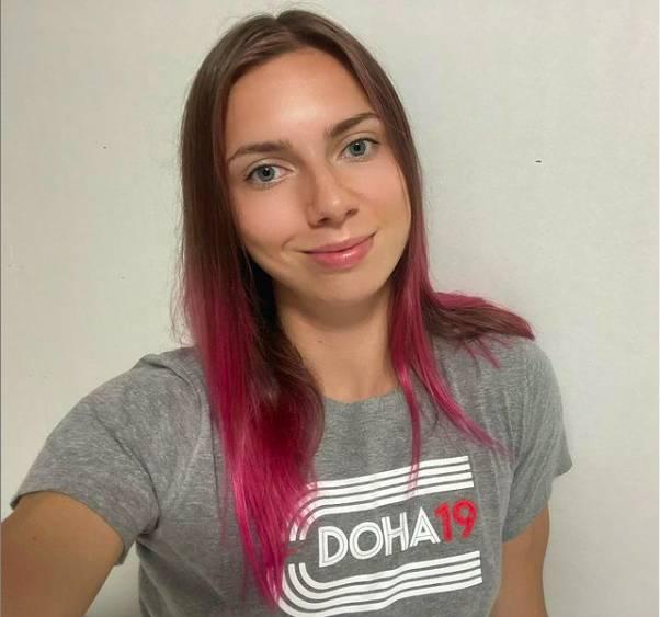 Krystsina Tsimanouskaya被迫退賽回國。(圖片來源:Krystsina Tsimanouskaya Instagram)