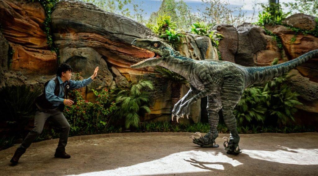侏羅紀世界努布拉島(圖片來源: universalbeijingresort)