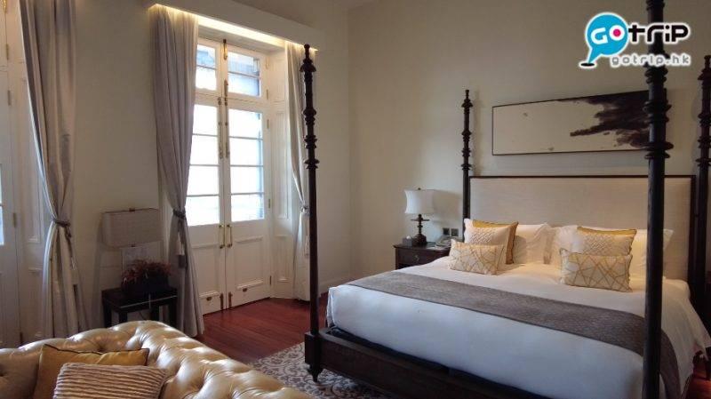 富衛1881公館是全套房酒店,每個獨立房間都有自己獨立露台。(圖片來源:GOtrip編輯部 / 石欣桐 攝)