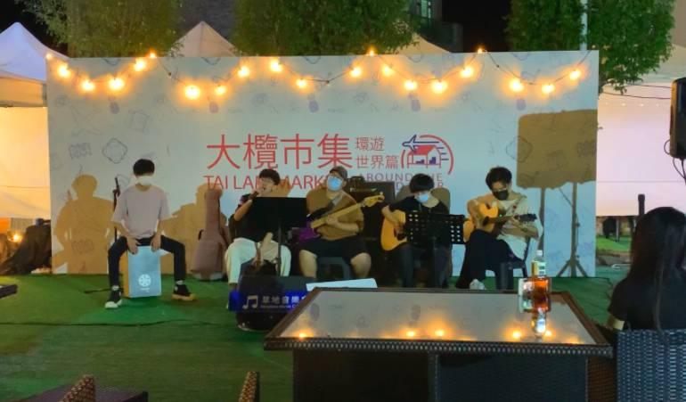 「草地音樂會」每晚都會邀請不同歌手前來表演,讓賓客享受一個悠閒的晚上。(圖片來源:官方提供)