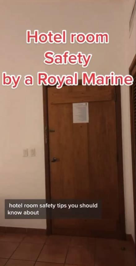 退役軍人分享3個簡單酒店防盜法。(圖片來源:IG@dutchintheusa)