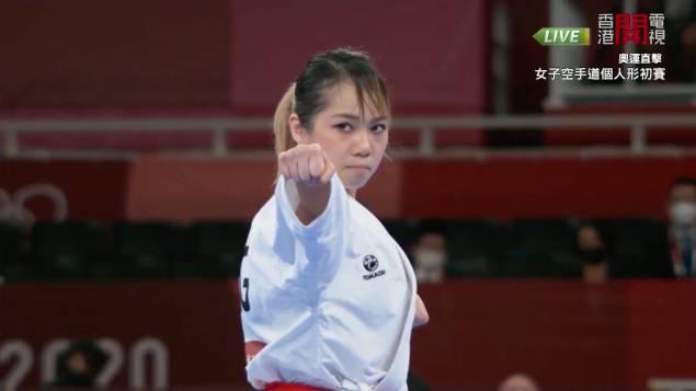 劉慕裳人生唯一機會奧運獎牌,因空手道奧運只有一屆。(圖片來源:香港開電視)