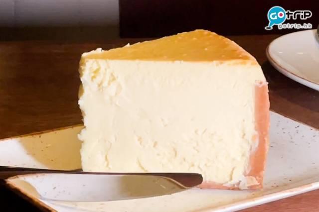招牌巨型紐約芝士蛋糕,兩個人都食不完!(圖片來源:GOtrip編輯部)