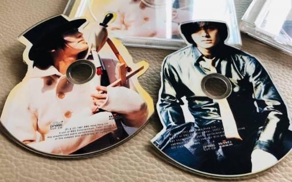 鄭伊健的人型CD(圖片來源:Twitter@furusho1120)